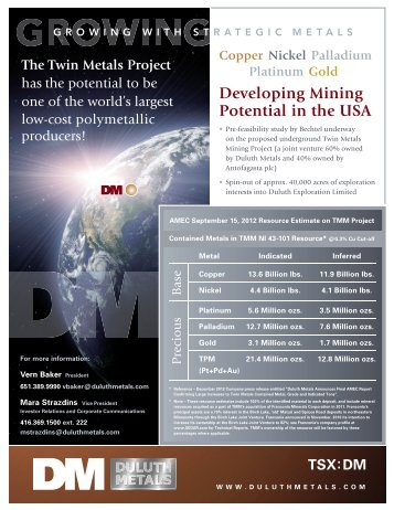Developing Mining Potential in the USA - PrecisionIR