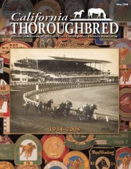 Bay Meadows: A Classic 75 Years - California Thoroughbred ...