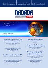 View - GCG: Revista de Globalización, Competitividad y ...