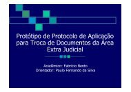 Protótipo de Protocolo de Aplicação para Troca de Documentos da ...