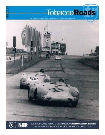 View February 2014 - Carolinas Region Porsche Club of America