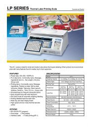 LP SERIES Thermal Label Printing Scale - KODA