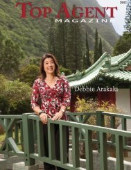 Debbie Arakaki - Top Agent Magazine