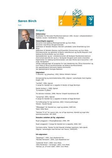 Søren Birch - Dansk Kapelmesterforening