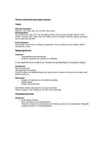 Auditieve oefeningen groep 1/2 Thema: Zomer ... - Kleutergroep