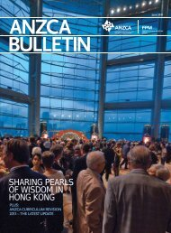 ANZCA Bulletin June 2011 - Australian and New Zealand College of ...