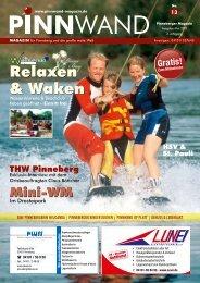 Relaxen & Waken - PINNWAND - Magazin
