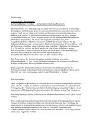 Beschlussvorschlag - Aktion Bleiberecht