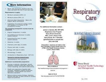 Program Brochure 2-22-12 - School of Health, Technology ...