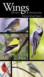 Birding Certificate Program - Arkansas Game and Fish Commission