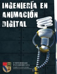 Ingenieria en Animacion Digital - Universidad Panamericana