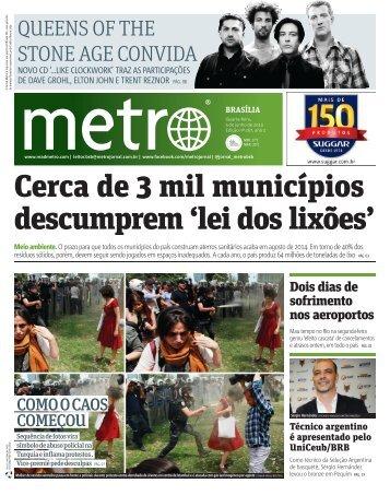 Cerca de 3 mil municípios descumprem 'lei dos lixões' - Metro