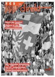 Mit offizieller Einladung zur 97. ordentlichen ... - FC Solothurn