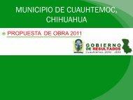 Diapositiva 1 - Municipio de Cuauhtemoc