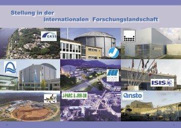 Stellung in der internationalen Forschungslandschaft - SNI-Portal
