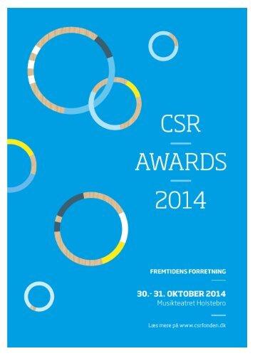 tentativt-program-csr-awards-2014