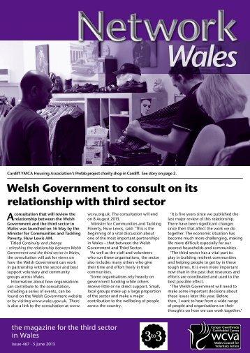 Network Wales 467, 5 June, 2013 - WCVA