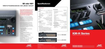 KM-H Series - PRO VIDEO
