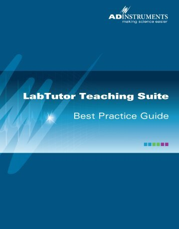 LabTutor Teaching Suite - ADInstruments
