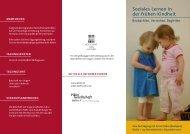 Soziales Lernen in der frühen Kindheit -  Pikler Gesellschaft Berlin eV