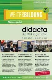 Köln 16.3.– 20.03.2010 - Didacta