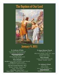 1/9/11 - St. Anthony of Padua Catholic Church