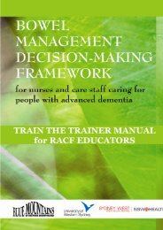 decision-making framework for the assessment and management