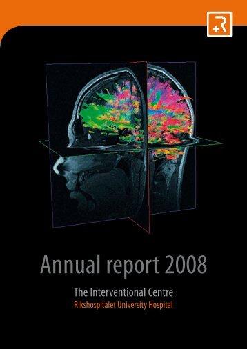 Annual report 2008 - The Intervention Centre