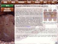 major landforms in volcanic regions - ISRIC World Soil Information