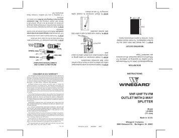 winegard carryout wiring diagram    wiring       diagram    for the sensarpro          tv signal meter with     wiring       diagram    for the sensarpro          tv signal meter with
