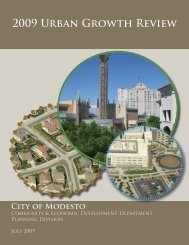 2009 Urban Growth Policy Review - City of Modesto