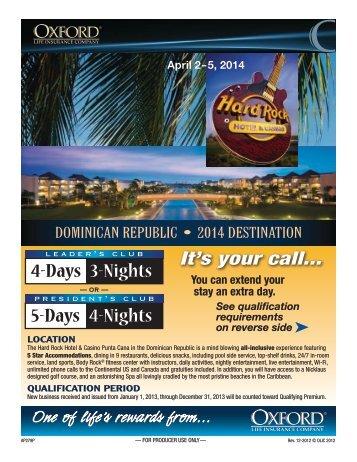 Hard Rock Hotel & Casino in the Dominican ... - A Plus Marketing