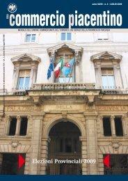 Elezioni Provinciali 2009 - Unione Commercianti di Piacenza