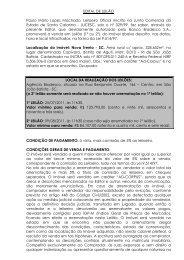 EDITAL DE LEILÃO Paulo Mário Lopes Machado ... - DM System