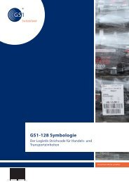 Broschüre GS1-128 Symbologie