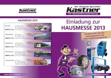 Einladung zur Hausmesse 2013 - Kastner