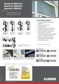 Ventosol VS5100/5200/5400 - Markisen Stein - Seite 2