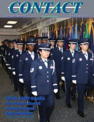 349th AMW thanks the Honor Guard during Annual Appreciation ...