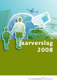 Jaarverslag 2008 - College bescherming persoonsgegevens