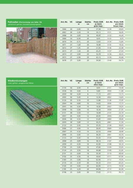 Gartenholz - Scheiwe-Holz