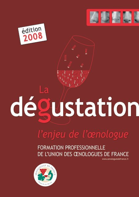 La l'enjeu de l'œnologue - Union des oenologues de France