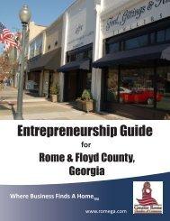 Entrepreneurship Guide - Greater Rome Chamber of Commerce