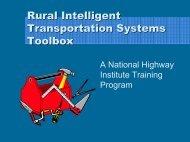 Powerpoint Slides - Western Transportation Institute