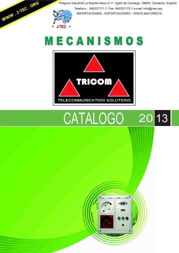Mecanismos CATALOGO - J-TEC