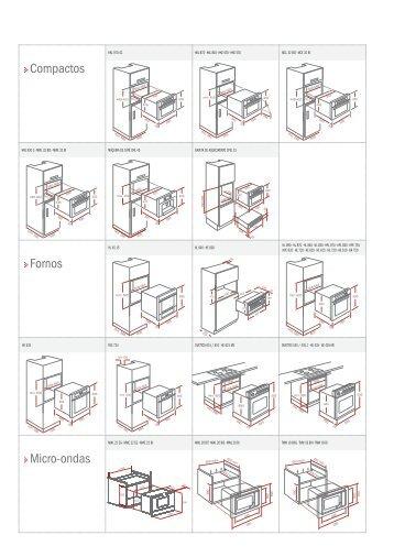 Compactos Micro-ondas Fornos - TEKA