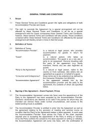 General Terms and Conditions Download