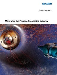 Mixers for the Plastics Processing Industry