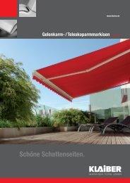Gelenkarmmarkise - Markisen Stein