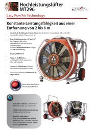 Dokumentation MT296 Easy Pow'Air Technologie - Leader GmbH
