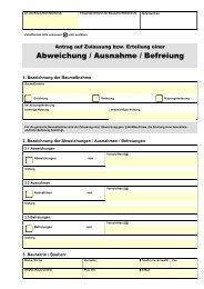 Abweichung / Ausnahme / Befreiung - Emstek